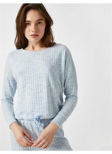 Koton Pijama Üstü Mavi
